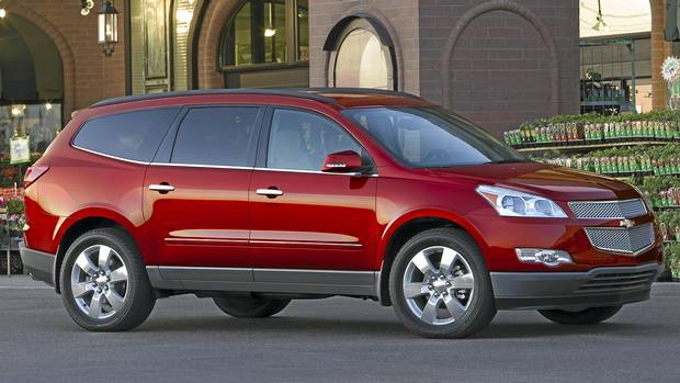 Chevy Traverse Is No Big Deal The Globe And Mail