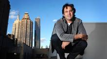 Scott Goodson from Strawberry Frog on the roof top of the company's penthouse office on Madison Avenue. (Neville Elder For The Globe and Mail)