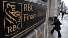 The Royal Bank of Canada branch in Old Montreal Thursday, Feb. 26, 2009. (Ryan Remiorz)