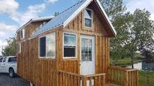 Tiny house measuring 160 square-feet built by Gregg Taylor. (GHT Contracting)