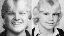 Rob Ford, left, and his brother Doug Ford, centre, pictured in Scarlett Heights Collegiate Institute yearbook photos from the 1981-1982 school year.