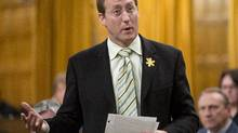 Justice Minister Peter MacKay responds to a question during question period in the House of Commons Friday April 4, 2014 in Ottawa (Adrian Wyld/The Canadian Press)