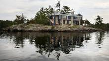 Designer and architect Dee Dee Taylor Eustace has completed her family's cottage on an island in Stoney Lake, north of Peterborough. (Yvonne Berg/Yvonne Berg)
