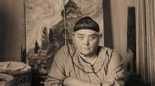 A detail from Emily Carr in Her Studio, 1939, silver gelatin print. (Harold Mortimer-Lamb/Collection of the Vancouver Art Gallery, Gift of Claudia Beck and Andrew Gruft)