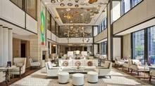 Dirk Lohan, Mies van der Rohe's granson, designed the Langham's lobby furniture. (Mike Schwartz)
