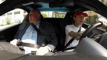 Toronto Mayor Rob Ford appears on musician Deadmau5's YouTube show Coffee Run, where celebrity guests join him for coffee dates. (YOUTUBE.COM)