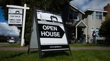 An open house in Vancouver's Arbutus neighbourhood. Low housing inventory and high demand are forcing prices to rise. (DARRYL DYCK For The Globe and Mail)