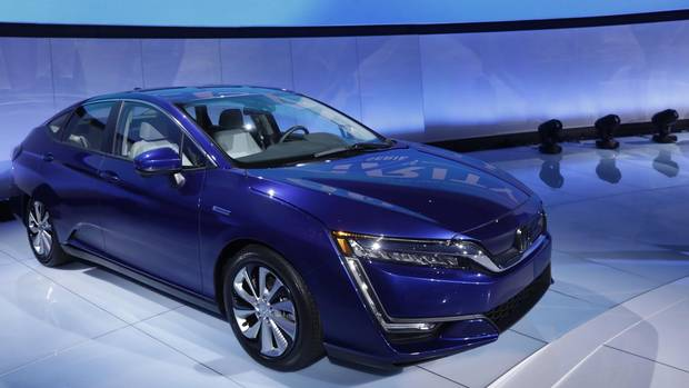 Honda launched plug-in hybrid and all-electric versions of its Clarity sedan. It will travel roughly 68 kilometres on battery-power alone.