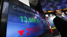 The Toronto exchange managed to keep losses at less than 1 per cent last week. (Deborah Baic/The Globe and Mail/Deborah Baic/The Globe and Mail)