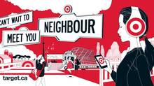 Target is pushing the neighbour theme in its Canadian ad debut. (Target Corp.)