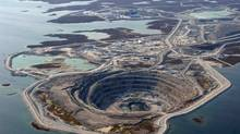 The Diavik mine from above: A remote northern mine is a test case for business, environment and innovation. (Diavik/Diavik)