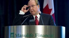 Manulife Financial CEO Guloien speaks at the annual meeting in Toronto. (Mark Blinch/Reuters/Mark Blinch/Reuters)
