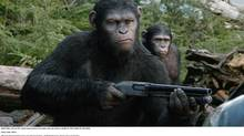 Great digital effects and actor Andy Serkis, as the ape leader, give the film gravitas. (Twentieth Century Fox)