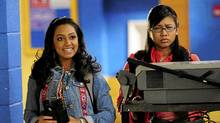 Marline Yan (who plays Abi Flores) and Melinda Shankar (who stars as Indie Mehta) of the YTV hit How To Be Indie.