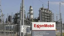 A view of the Exxon Mobil refinery in Baytown, Texas (Jessica Rinaldi/Reuters)