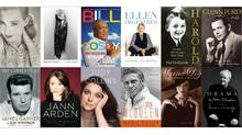Celebrity memoir covers