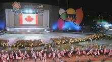 An excited Team Canada entered the stadium this evening to celebrate the official opening of the Guadalajara 2011 Parapan American Games in Mexico. (CNW Group/CANADIAN PARALYMPIC COMMITTEE (CPC)) (CANADIAN PARALYMPIC COMMITTEE/CPC)