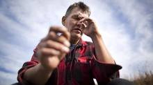Richard Perry says when he was a student, John Furlong 'was the enforcer for the nuns' at a Burns Lake school. (John Lehmann/The Globe and Mail)