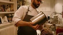 Part scientist, part chef, Dan Felder, head of research at Momofuku's culinary lab, studies new methods of cooking. (Gabriele Stabile)