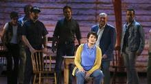 The cast of Come From Away performs at the 71st annual Tony Awards on June 11, 2017. (Michael Zorn/Invision/AP)