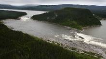 Muskrat Falls, on the Churchill River in Labrador (Paul Daly/Paul Daly/The Globe and Mail)
