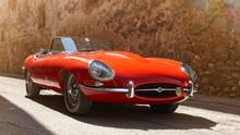 A THING OF BEAUTY Jaguar's E-Type entered the market in 1961. Built on a tight budget, its design immediately became something to celebrate and the car was coveted by many. (COURTESY OF JAGUAR)