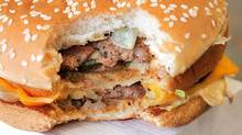 A Big Mac hamburger is seen in a McDonald's fast-food restaurant (Tim Boyle/Getty Images)