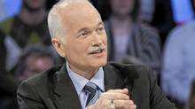 Jack Layton during an appearance on Tout le Monde en Parle on april 4, 2011