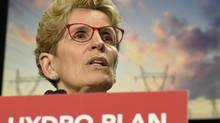 Ontario Premier Kathleen Wynne speaks during a press conference in Toronto on Thursday, March 2, 2017. (Frank Gunn/The Canadian Press)
