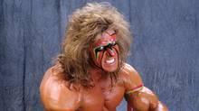 WWE wrestler Ultimate Warrior.