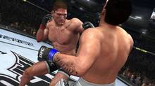 Screen shot from the official website of the THQ video game UFC Undisputed Community.
