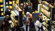 Visitors at the last year's Frankfurt Book Fair, October 15, 2015.