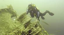 The treacherous waters surrounding Vancouver Island have been the final resting place for barques, outriggers and freighters. We talk to diver Jacques Marc, who has visited the underwater graveyards of some of the worst wrecks on the coast. (Jacques Marc/Jacques Marc)