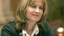 Christiane Ouimet, then Canada's first Public Sector Integrity Commissioner, appears before a Senate committee in Ottawa on June 19, 2007 (Patrick Doyle/The Canadian Press/Patrick Doyle/The Canadian Press)