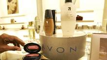 Avon store in New York. Avon Products Inc. is a direct seller of beauty products (AP)