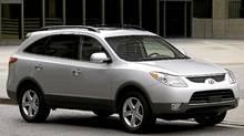 2011 Hyundai Veracruz (David Dewhurst/Hyundai)