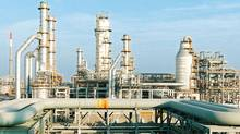 The Reliance Industries Ltd. petrochemical plant at Hazira in western India in shown in this February, 2003, file photo. (Reuters)
