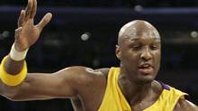 Lamar Odom has signed with Turkish club Besitkas according to sources close to the Los Angeles Lakers forward. File Photo: REUTERS/Danny Moloshok (Danny Moloshok/Reuters)