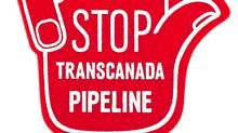 Stop Transcanada Pipeline sign, Oct. 5, 2011. (Moe Doiron/Moe Doiron/The Globe and Mail)