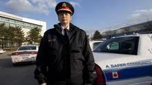 Peel Regional Police Chief Jennifer Evans in Brampton this week. (Deborah Baic/The Globe and Mail)