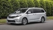 Toyota Sienna. (Toyota)