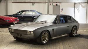 The Jensen Interceptor featured in Fast & Furious 6.