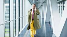 Nigel Farage is in the hot seat as leader of Britain's fastest growing political party. (PASCAL BASTIEN/NYT)