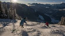 Ski With The Pros is a three-day workshop that kicks off the winter season each year at Panorama Mountain Resort in British Columbia. Skiers of all skill levels can participate in the workshop. (Panorama Mountain Resort)