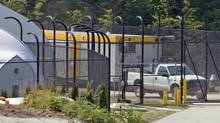 The Fraser Regional Correctional Centre is seen in Maple Ridge, B.C. Sunday, Aug. 15, 2010. The corrections facility is said to be where some of the 490 migrants who arrived in Canada by ship on Friday are being held. (Jonathan Hayward)
