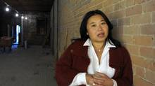 Amy Chow is photographed in the empty space of a former Chinese restaurant on Danforth Ave. that she's renovating and will open a restaurant in the spring. (Fred Lum/Fred Lum/The Globe and Mail)