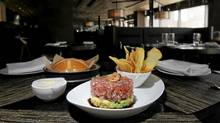 E11even's tuna tartare (Fred Lum/The Globe and Mail/Fred Lum/The Globe and Mail)