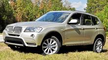 2011 BMW X3 (Michael Bettencourt for The Globe and Mail)
