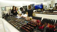 Holt Renfrew's new 'beauty hall' at its Yorkdale store is part of the chain's $300-million makeover. (Kevin Van Paassen/The Globe and Mail)