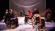Borne, a new project by the playwright and director Judith Thompson features a cast of nine in wheelchairs. (Cylla von Tiedemann/Soulpepper)